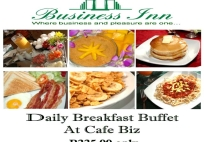 Breakfast Buffet @ Cafe Biz (CANCELLED)