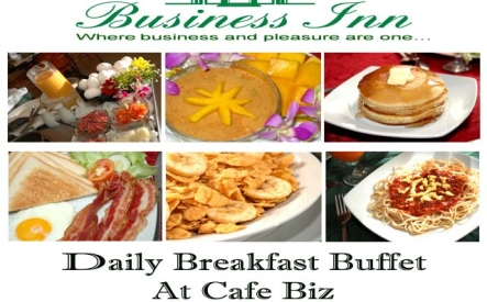 Breakfast Buffet @ Cafe Biz